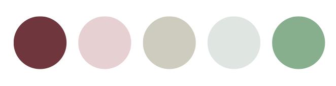 Belle Meade Plantation - Summer Color Palette