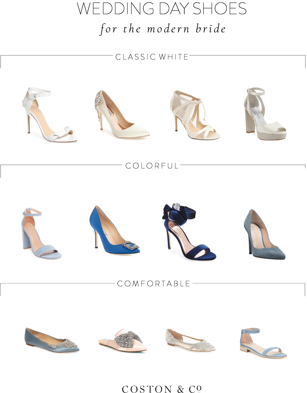 2017 Bridal Shoe Roundup