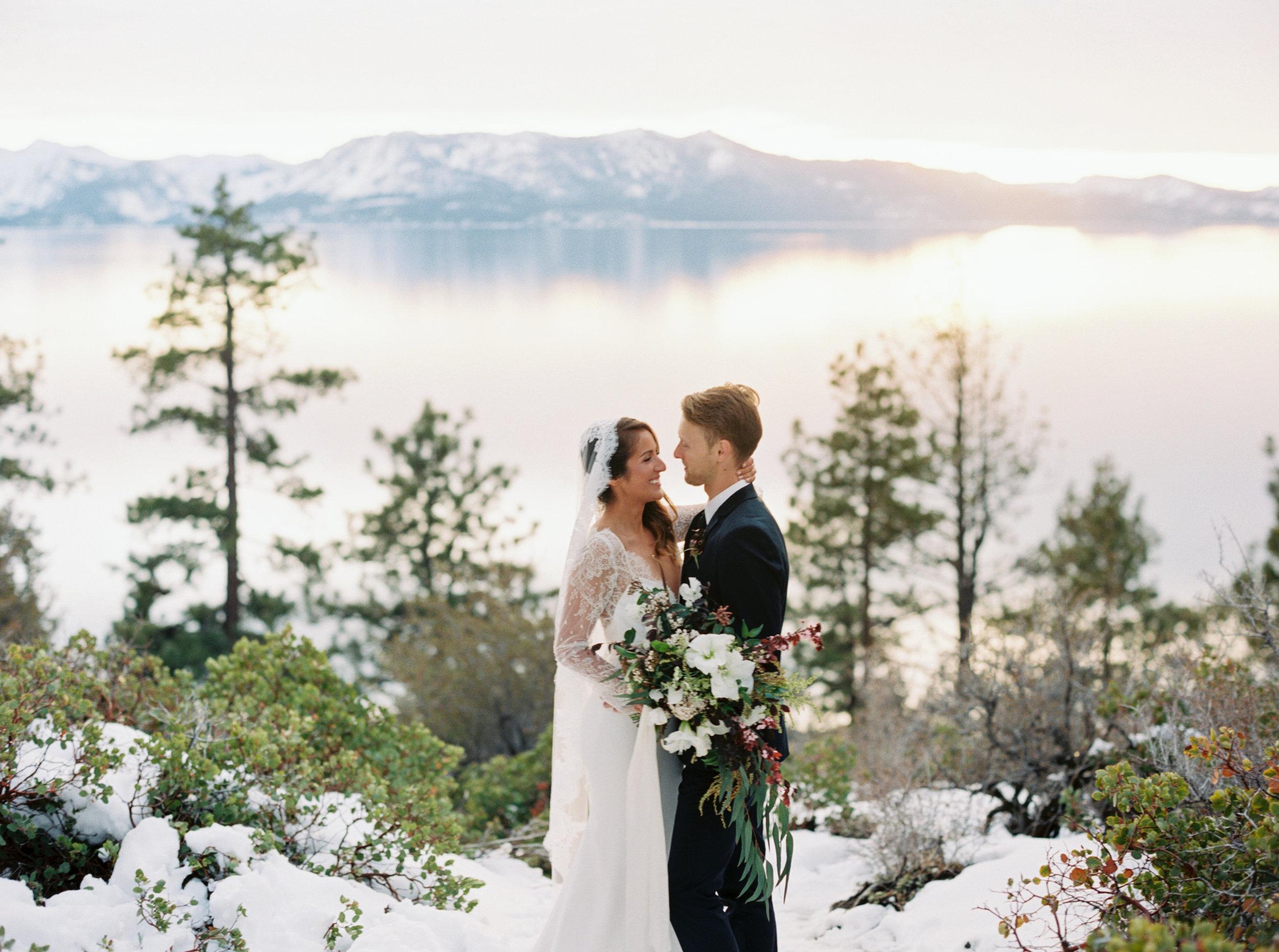 Logan's Shoals Winter Elopement - Coston & Co. - Lake Tahoe, NV