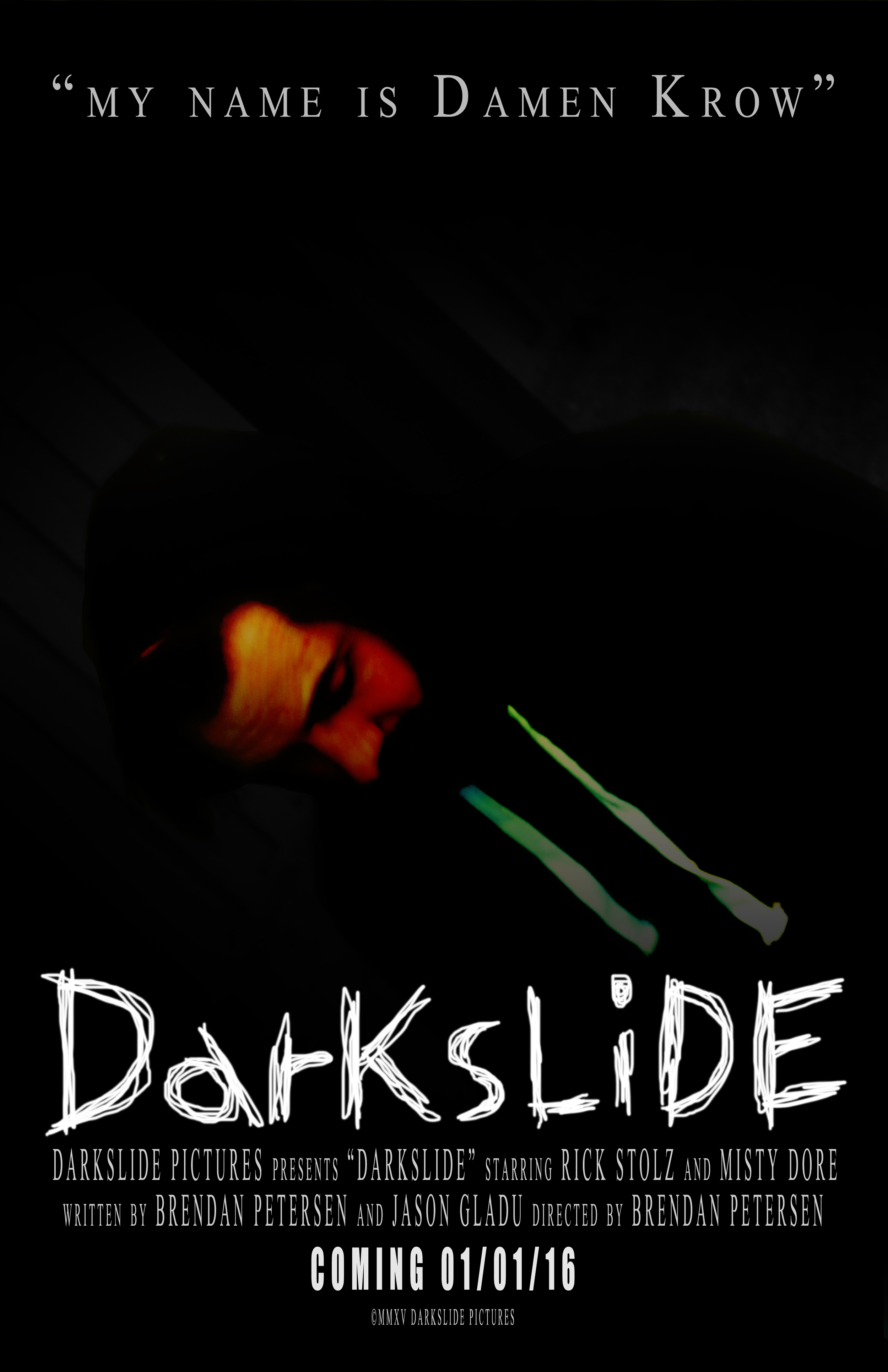 DARKSLIDE - Coming 01/01/16 Official Poster