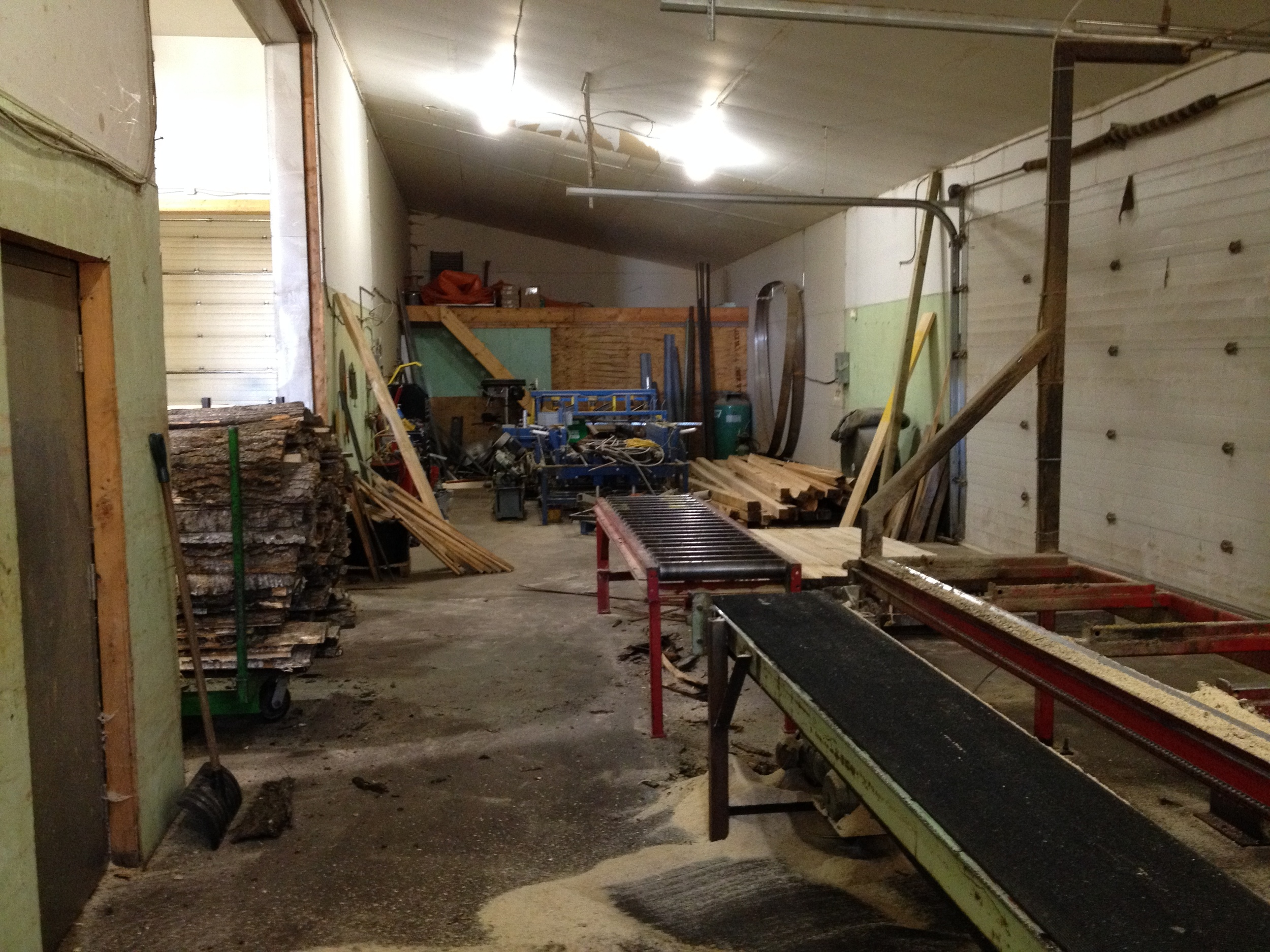 One unique advantage of mine was access to a sawmill location which I also worked into the story of DARKSLIDE.