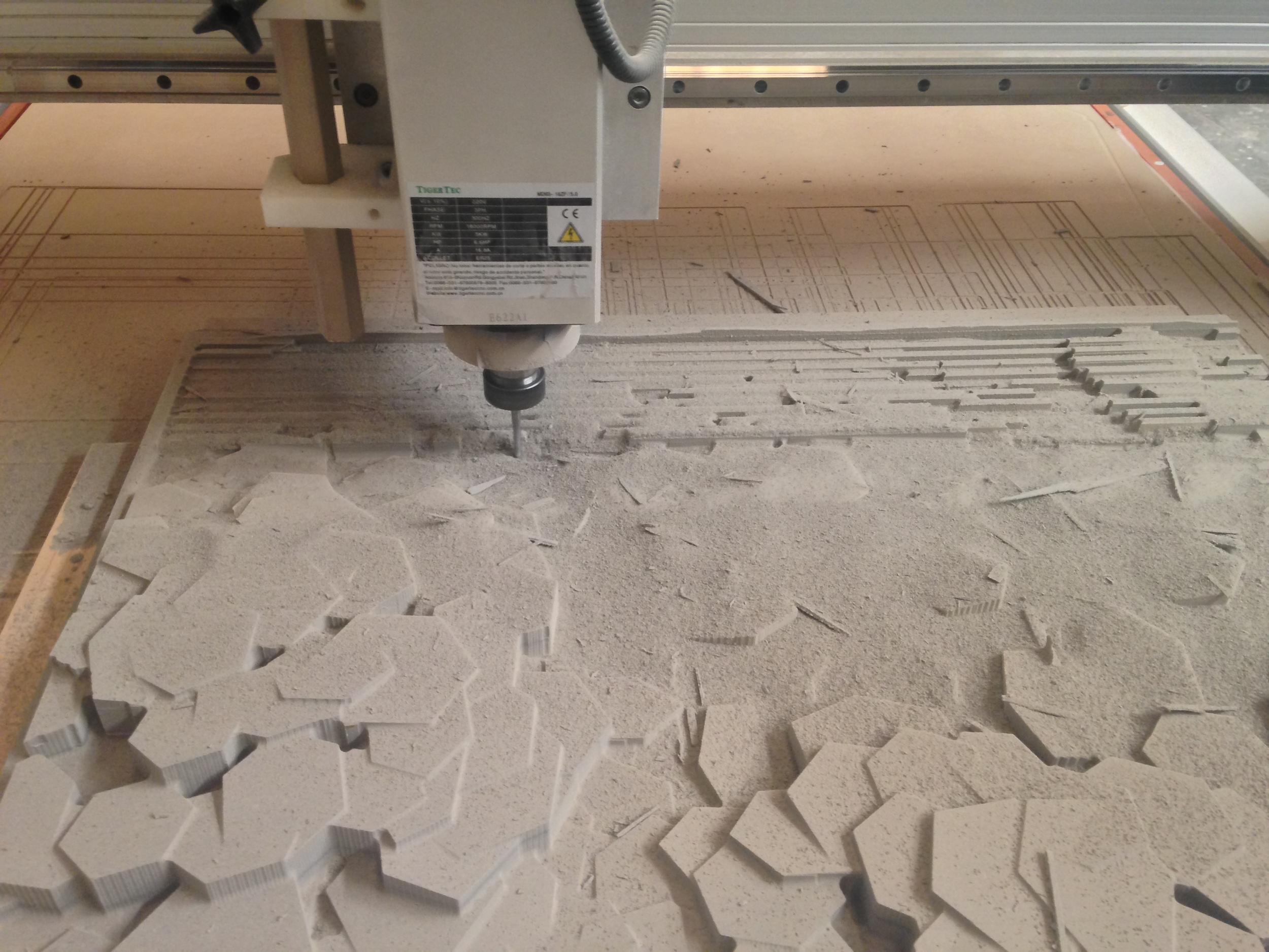 Gustavo Artigas Corte 3D en CNC