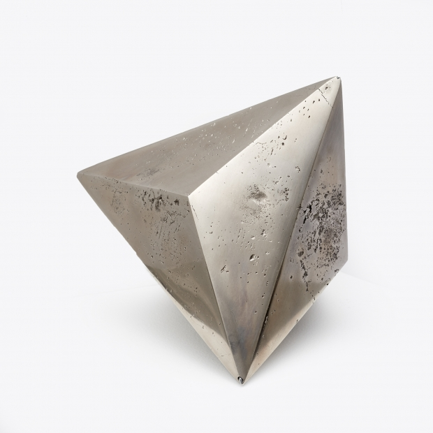Emilio Chapela   Escultura de bismuto