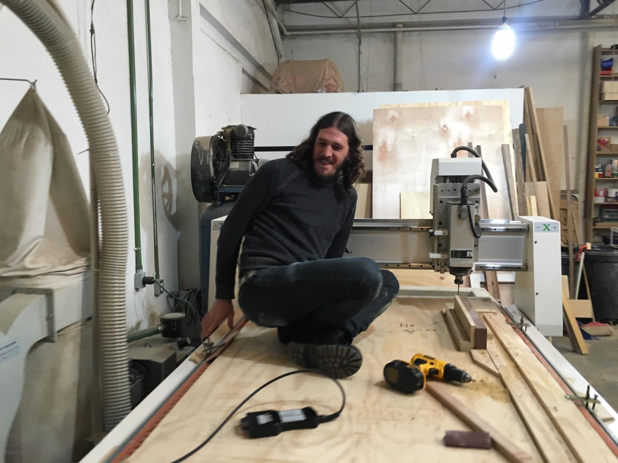 Emilio Chapela y el CNC