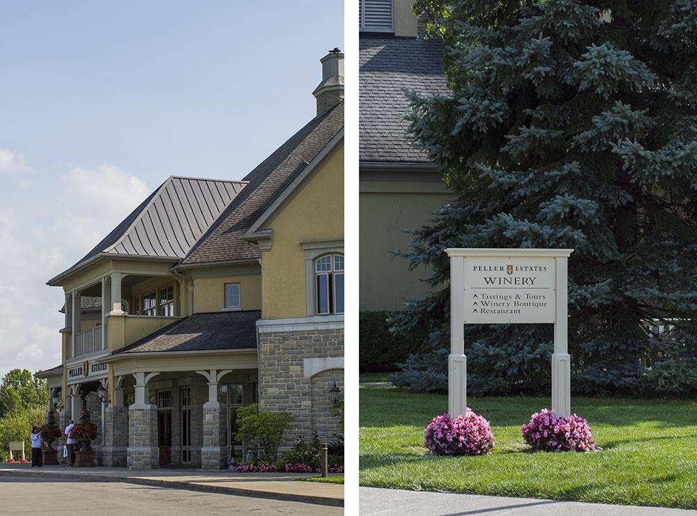 Peller Estate Vineyards Entrance
