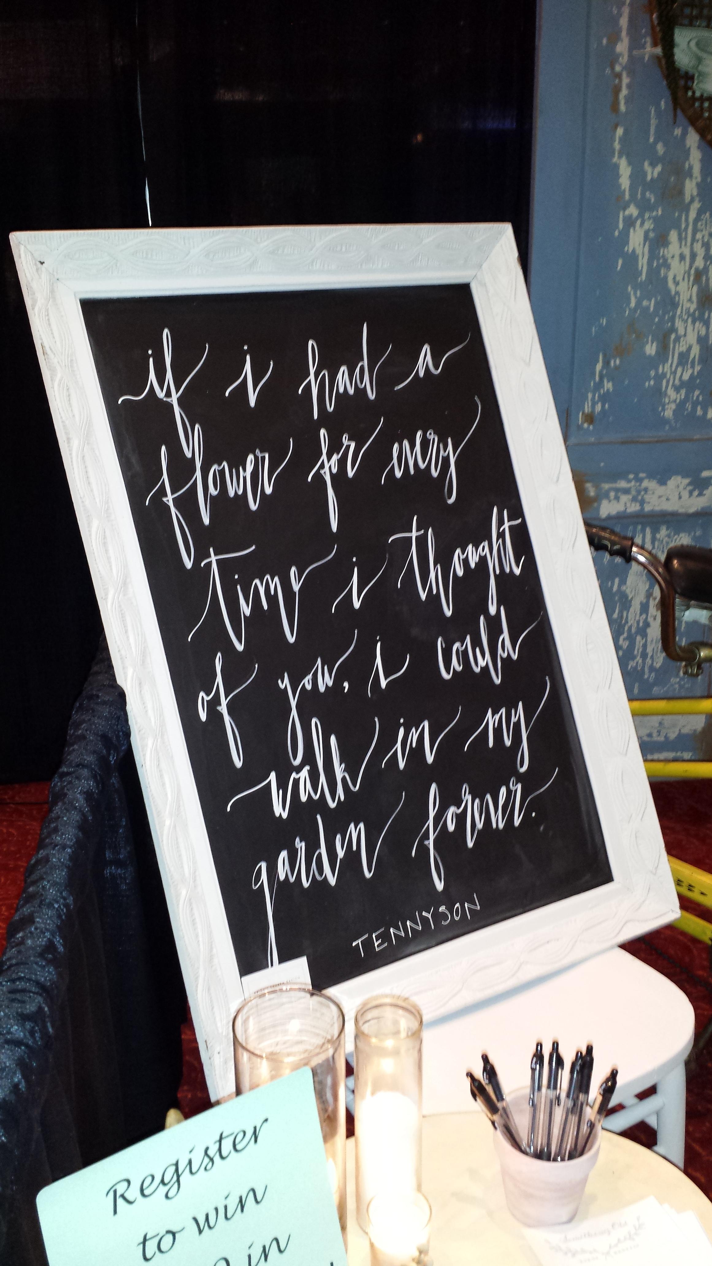 Lettering by Abigail Lauren Design