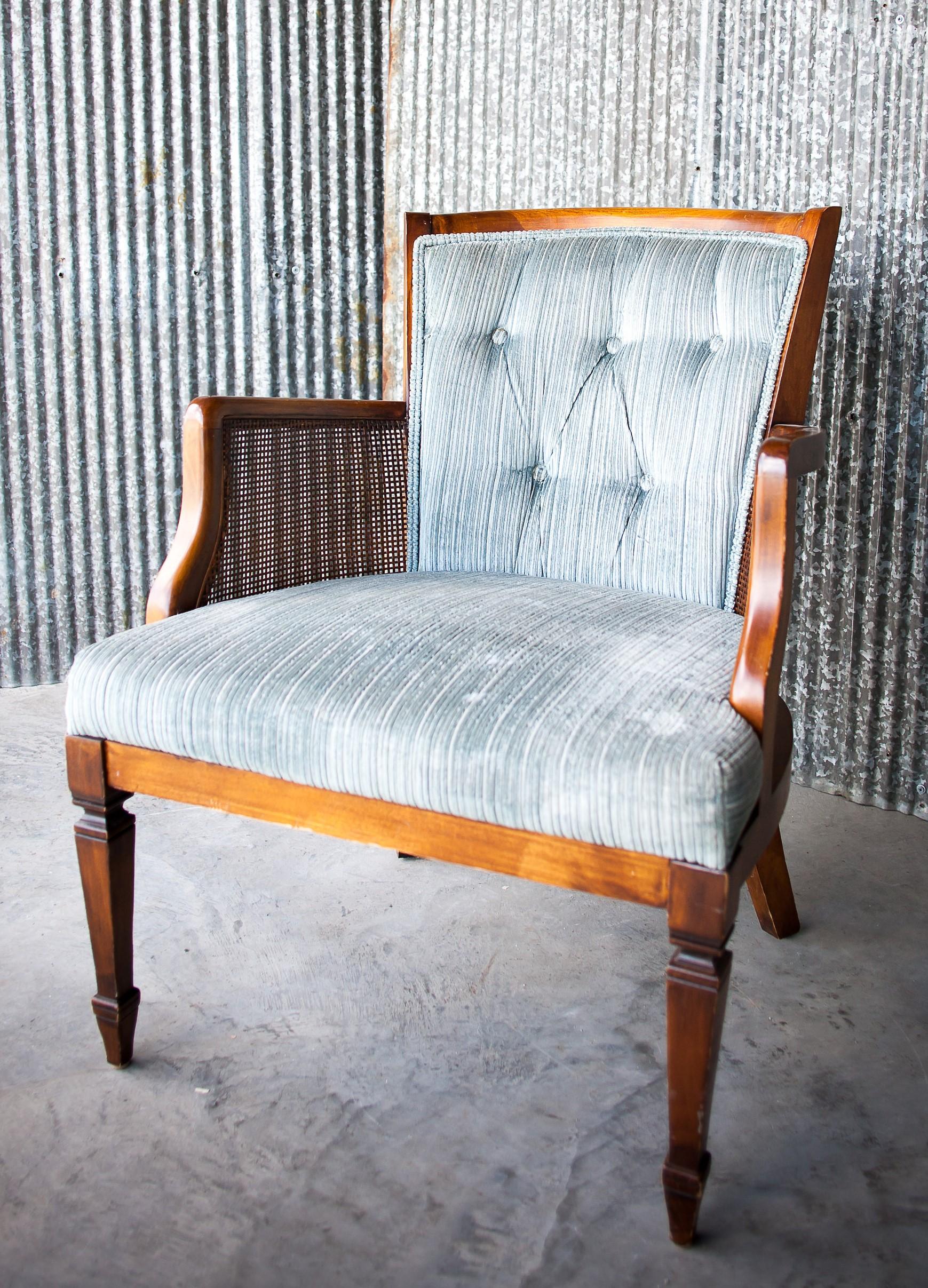 Serenity Blue / Blog Post - Something Old Event Rentals Presley Chair Vintage Rentals