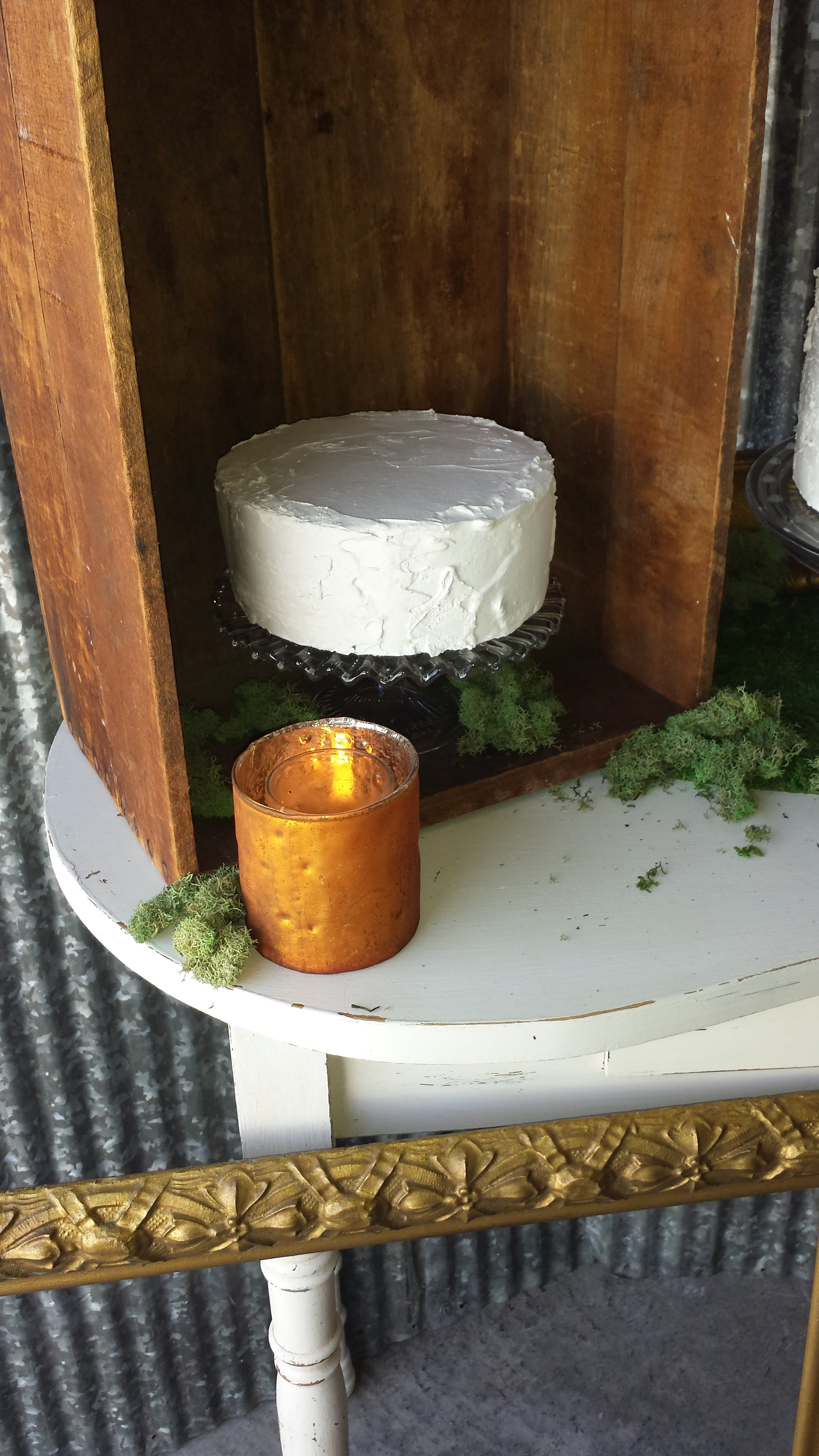Something Old Event Rentals - Morton, IL - Idea Central - March Cake Display