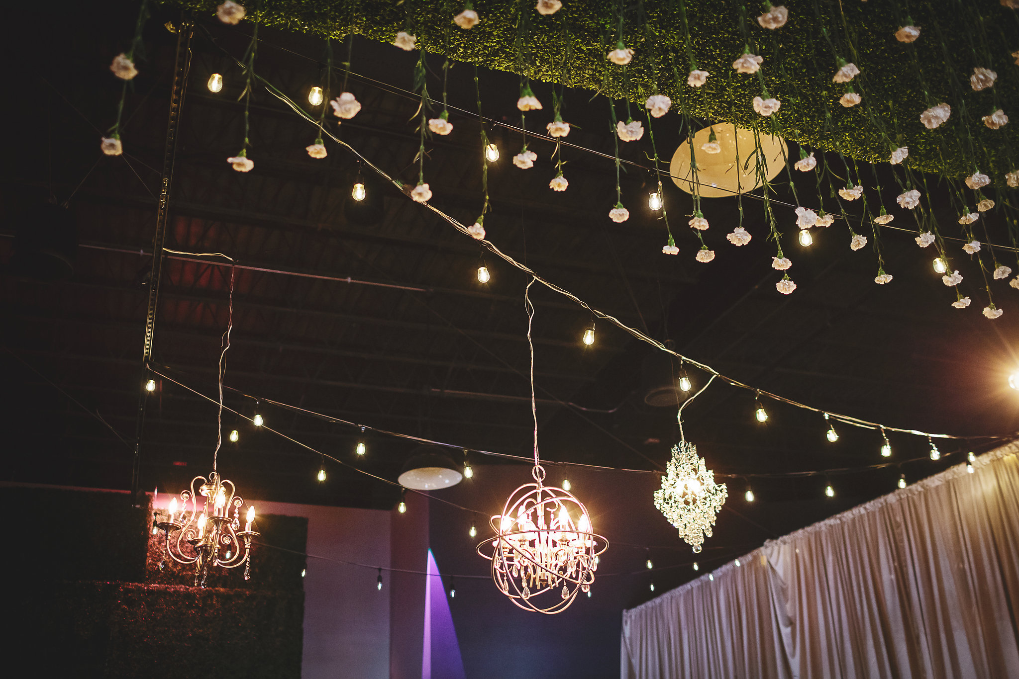 Something Old Event Rentals - Warehouse on State - Peoria, IL - Rachael Schirano Photography - Happily Ever After Weddings - Bittersweet Floral