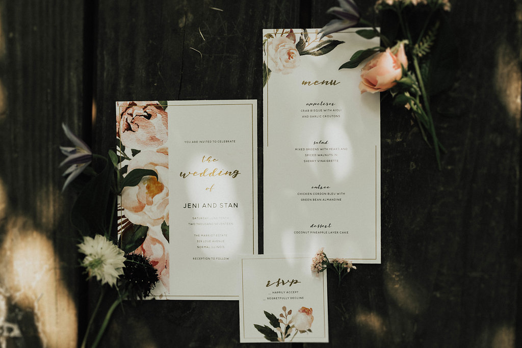 Central Illinois Wedding Rentals Spruce Rentals Lauren Fotography Fancy Florals by Nancy Adore Bridals Bremer Jewelry