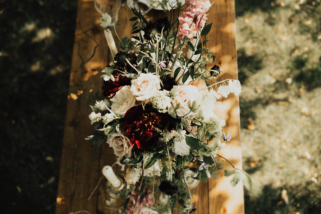 Peoria Wedding Rentals Spruce Rentals Lauren Fotography Fancy Florals by Nancy Adore Bridals Bremer Jewelry