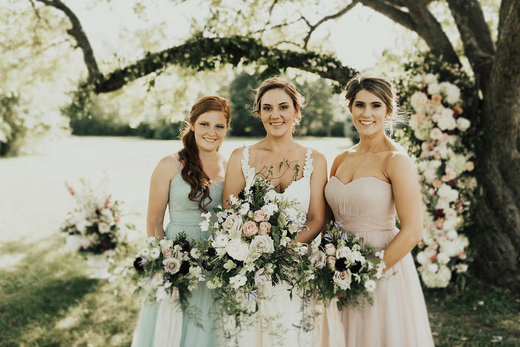 Bloomington Illinois Wedding Rentals Spruce Rentals Lauren Fotography Fancy Florals by Nancy Adore Bridals Bremer Jewelry