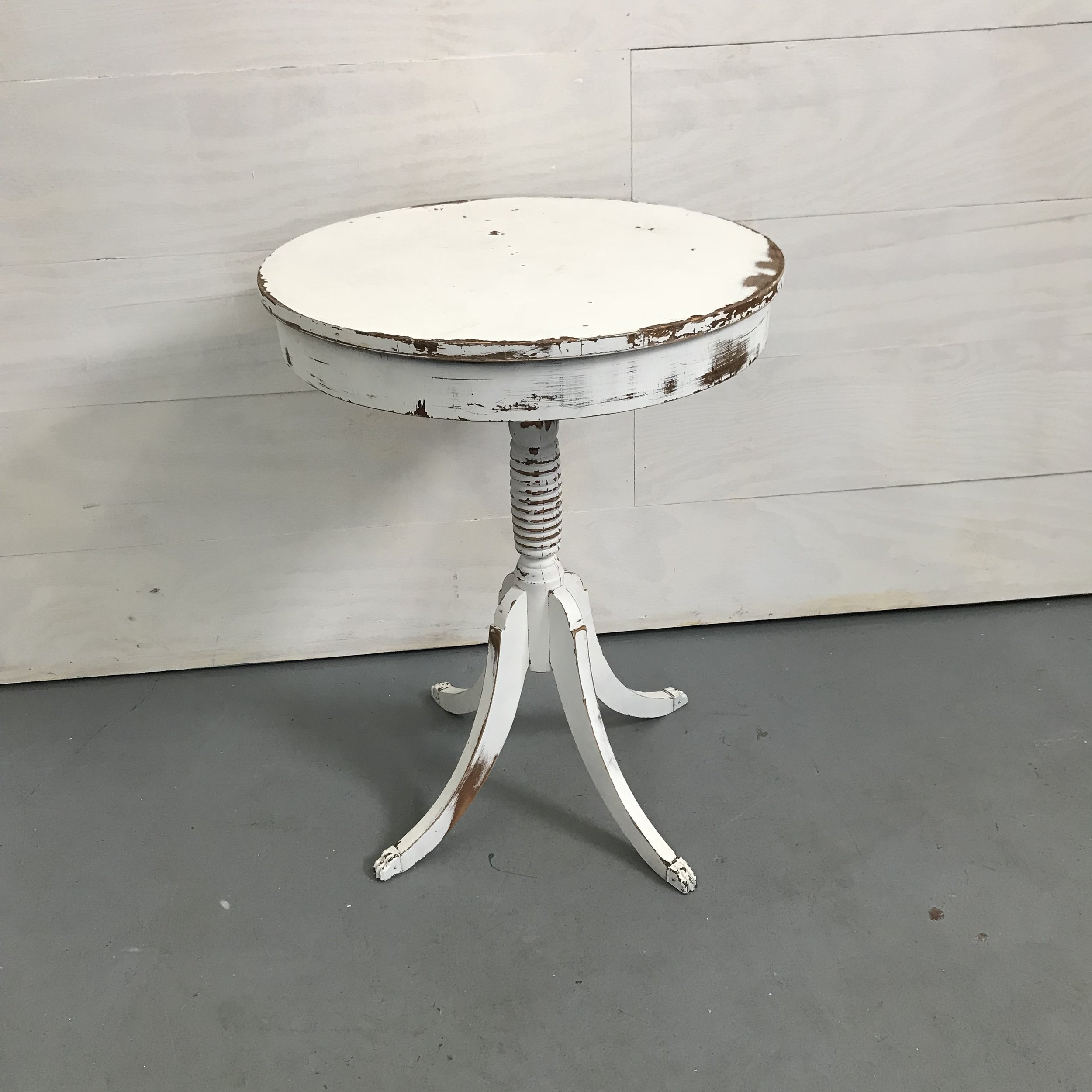 Spruce Rentals - Snow Side Table