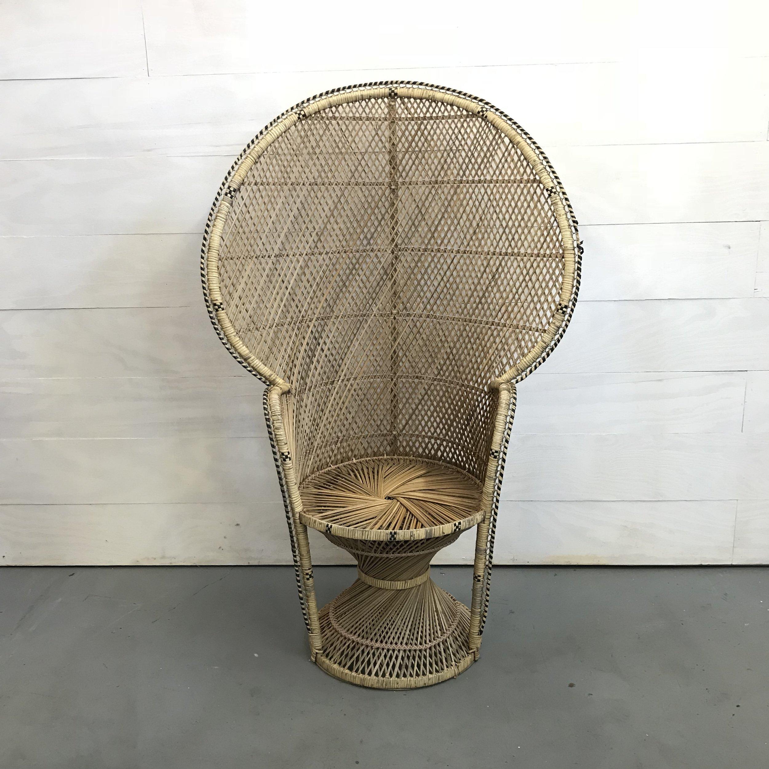 September Peacock Chair