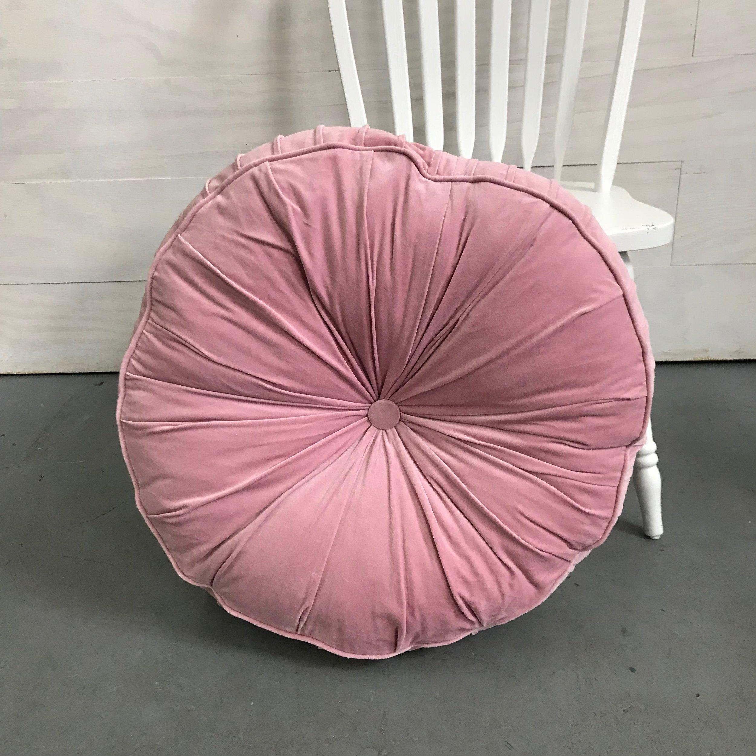 Soft Pink Floor Cushion