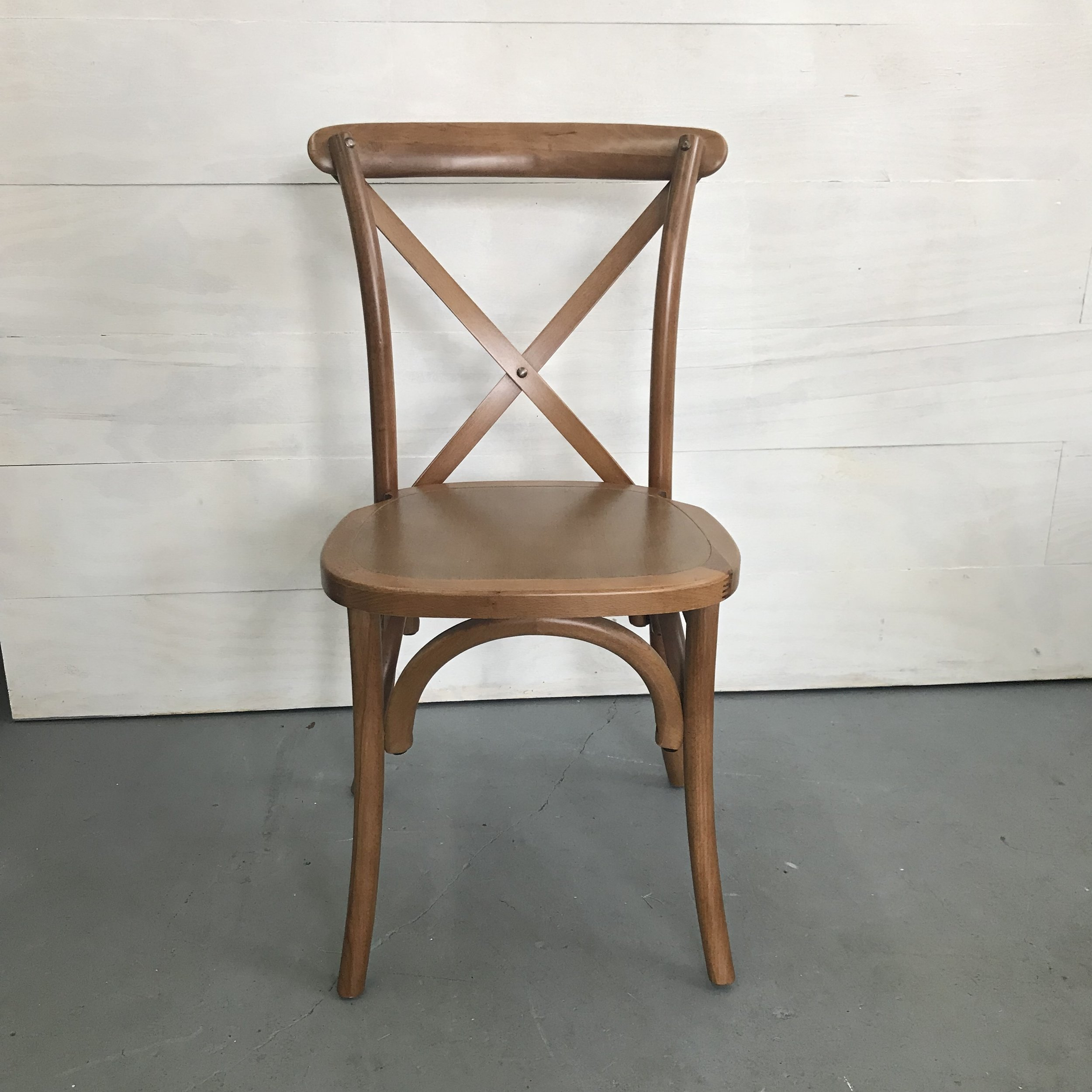 Spruce Rentals - Vineyard Crossback Chair