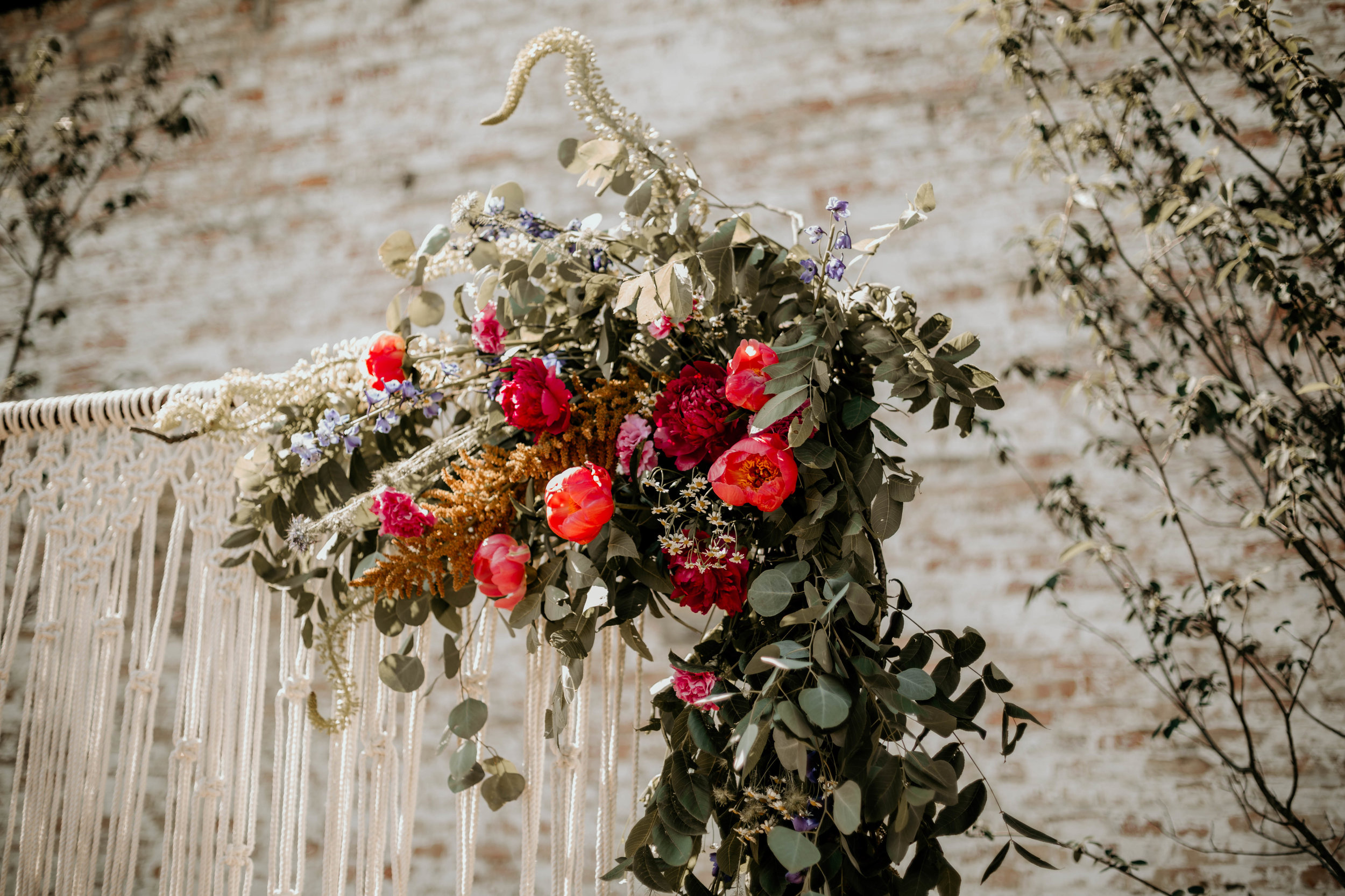 Wedding Inspiration:  Southwest Boho Wedding at The Cannery with Dani Lang Photography, Flowers & Leather Events, Ivory Aisle Rentals, Vera & Buck Floral Studio, Native Rest, 1350 Northvintage, Bremer Jewelry & Spruce Rentals
