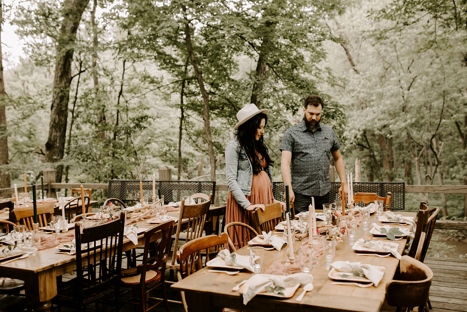 Natiure Inspired Boho Baby Shower at Lake of the Woods with He & She Weddings, Pollen and Pastry, HIlary Elise Photo, Snassy Crafter and Spruce Rentals