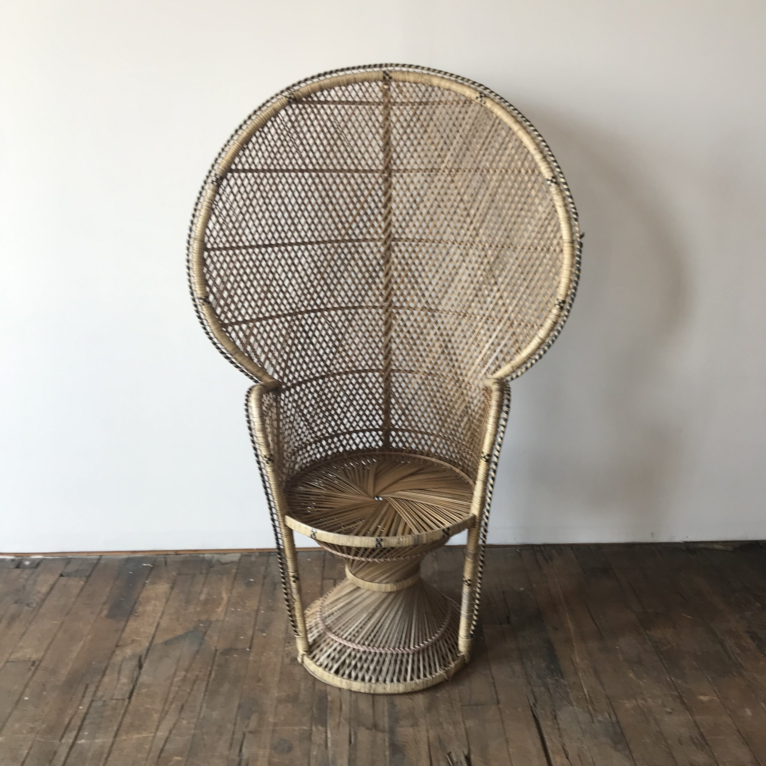 Spruce Rentals - July Peacock Chair