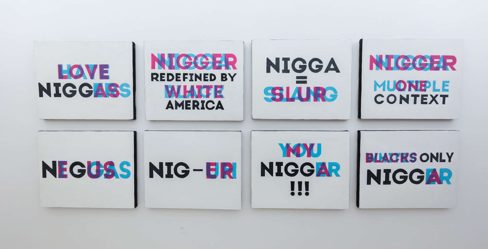 Improper Noun art collection explores the N Word and what it means for Blackness