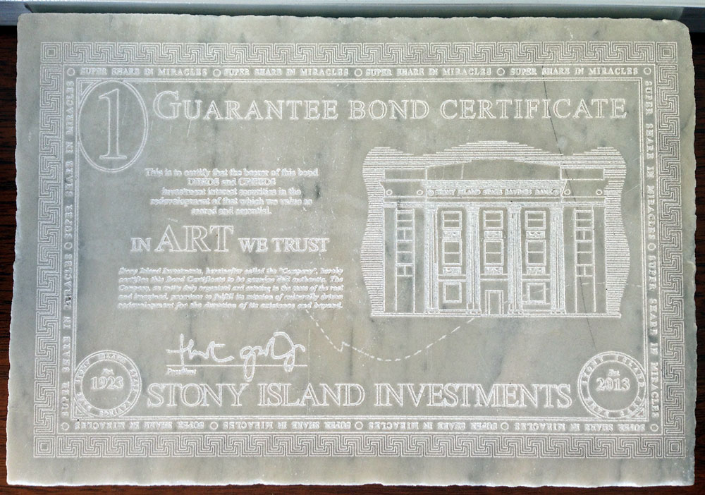"""""""In Art We Trust"""" was a way to reinvest that money back into the Stony Island Arts Bank."""