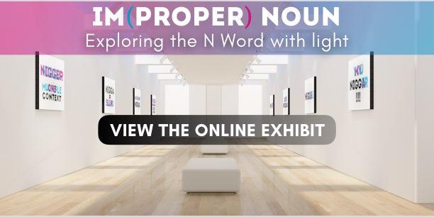 n word online art exhibition