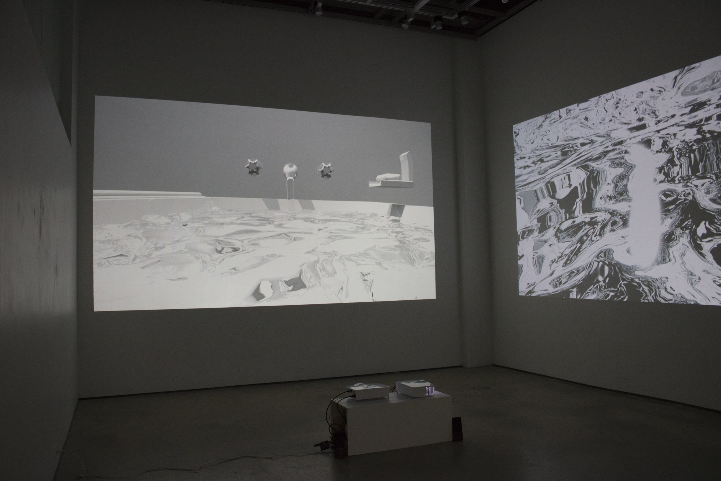 Installation view , Call me when you get back home , 2017, 05:20