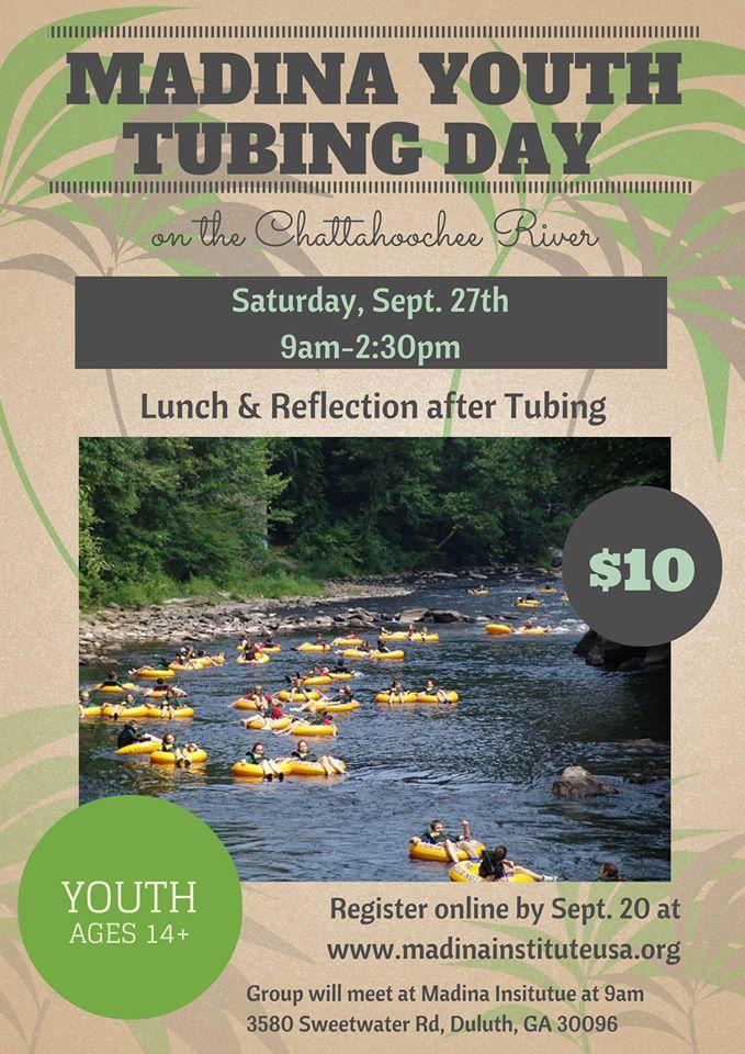 Madina Youth Tubing Day