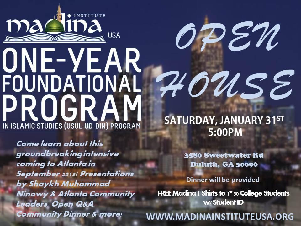 Madina Institute Open House