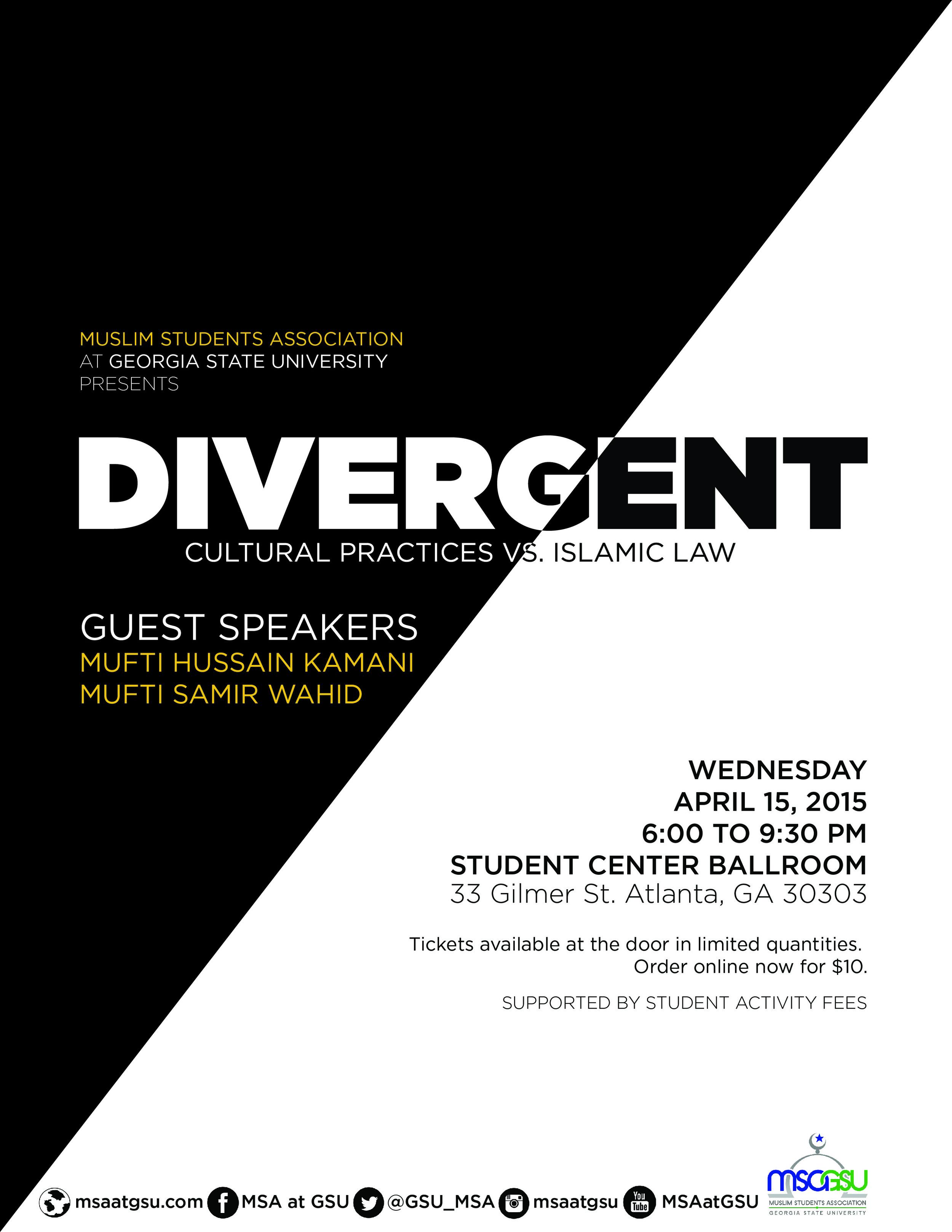 Divergent: Cultural Practices vs Islamic Law