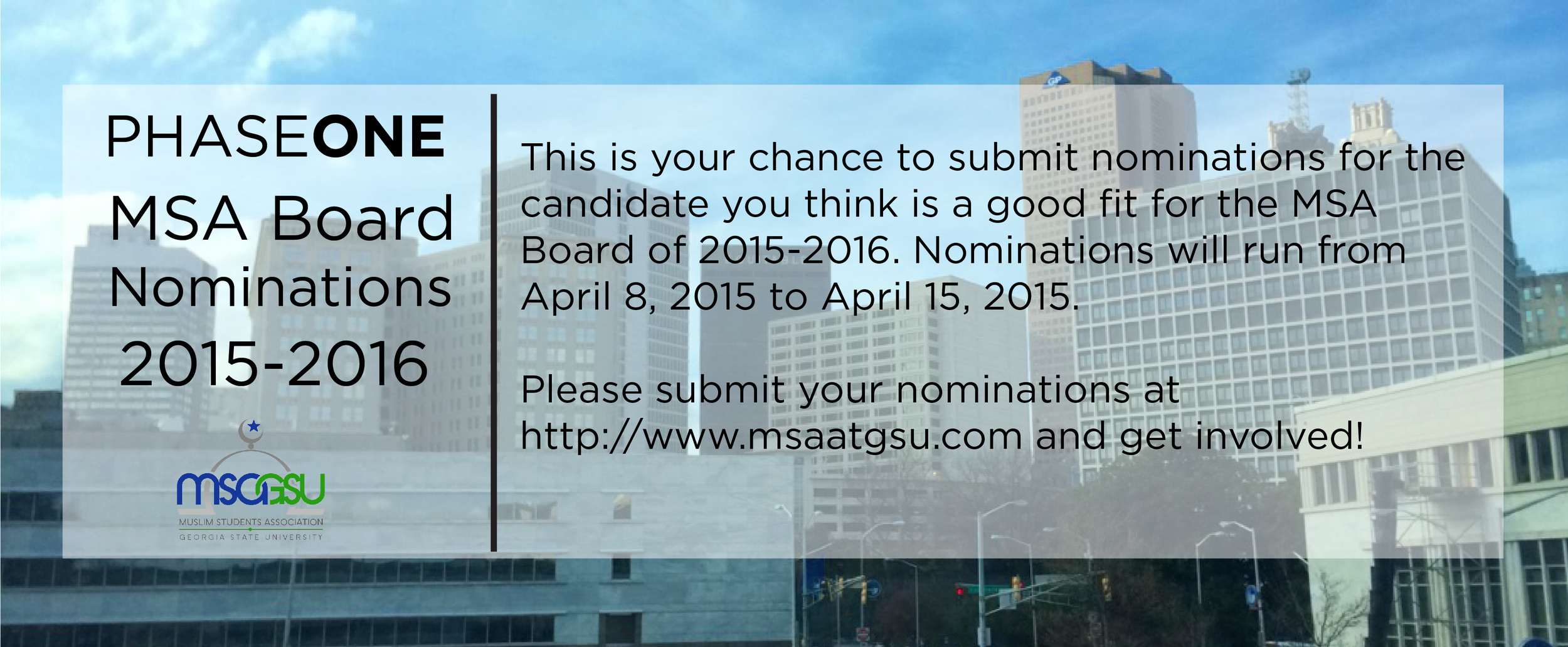 Nominate or Apply today!