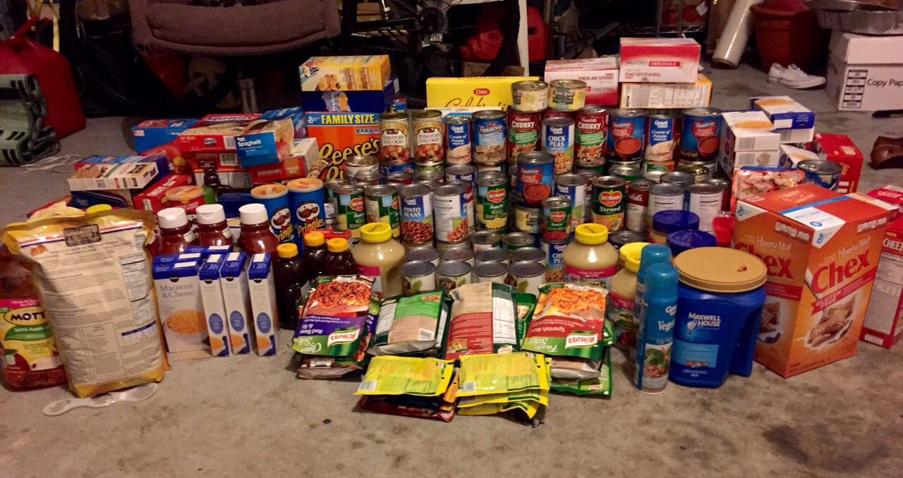 A total of 235 items were purchased!