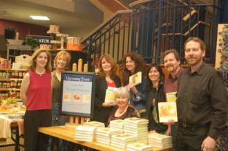 The best shopping karma of all: friends at my 2006 book signing at Davis Kidd