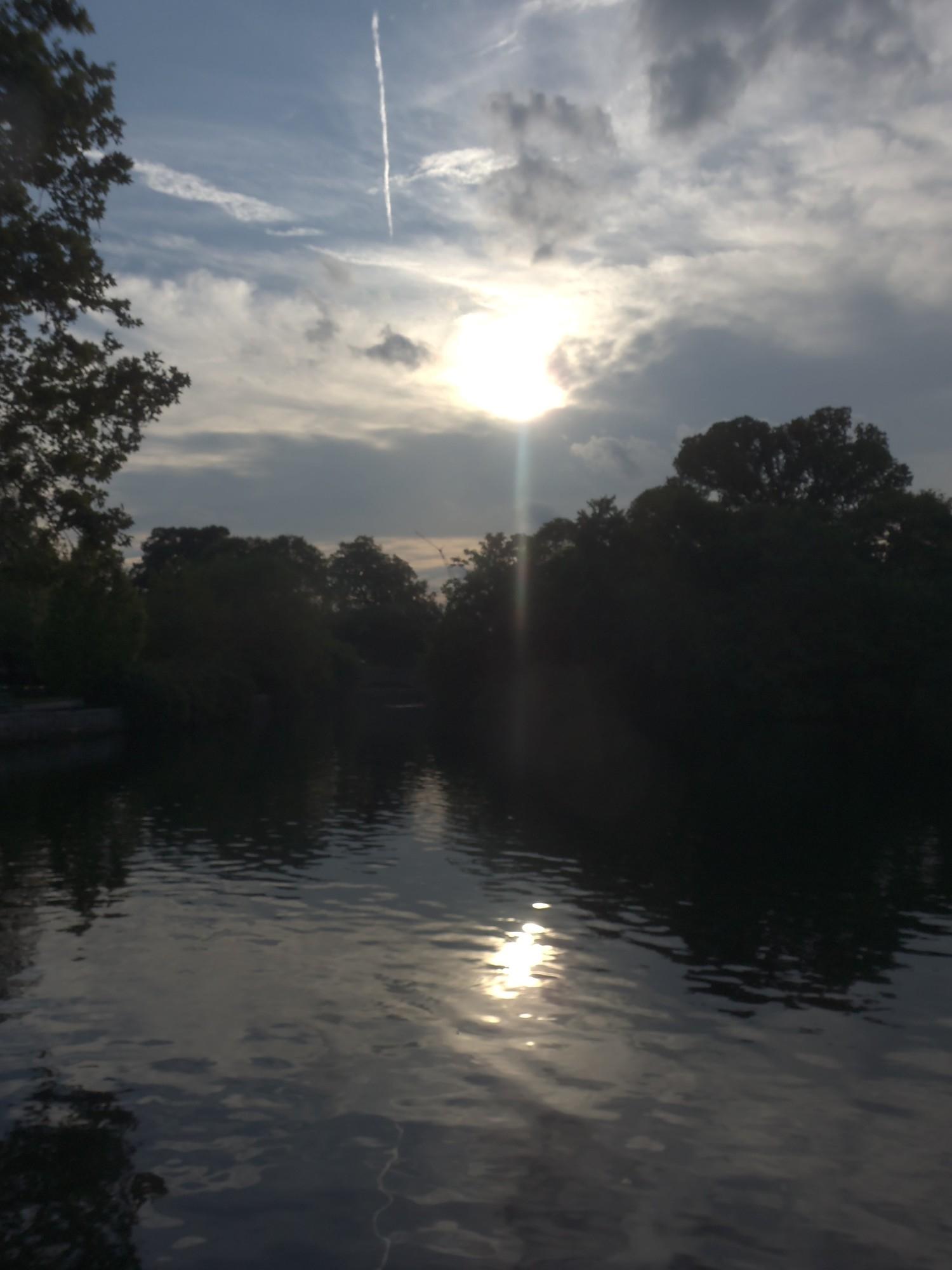 Centennial Park Summer Sunset