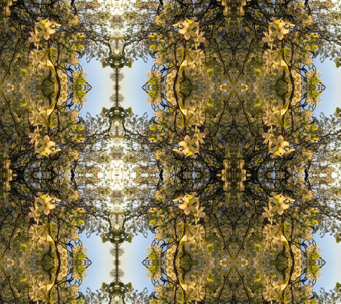Pear Blossom Baroque 1901  https://artofwhere.com/artists/candy-paull/materials/fabric/556083