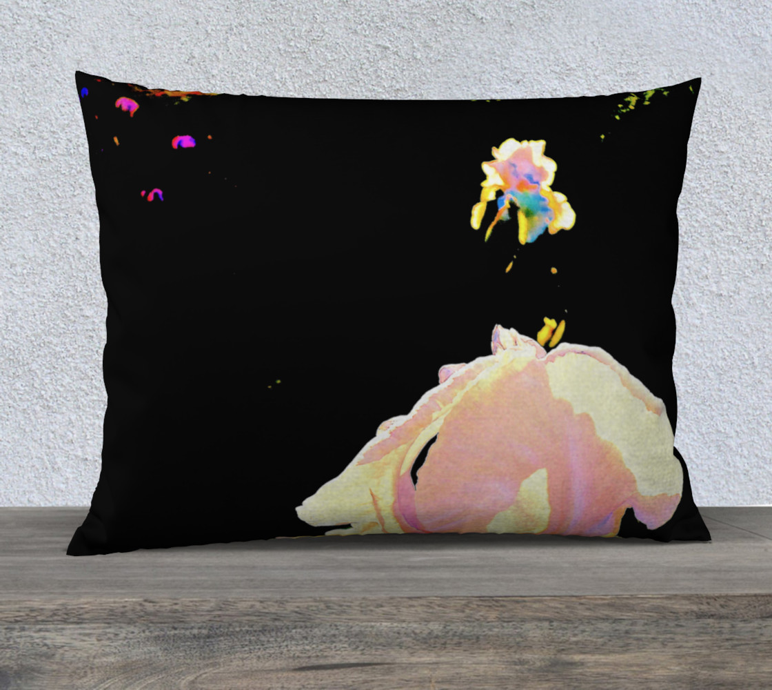 Iris Rainbow Pillow