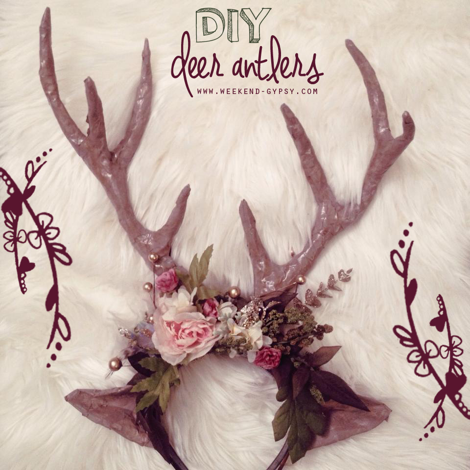 weekend diy | deer antlers} — The