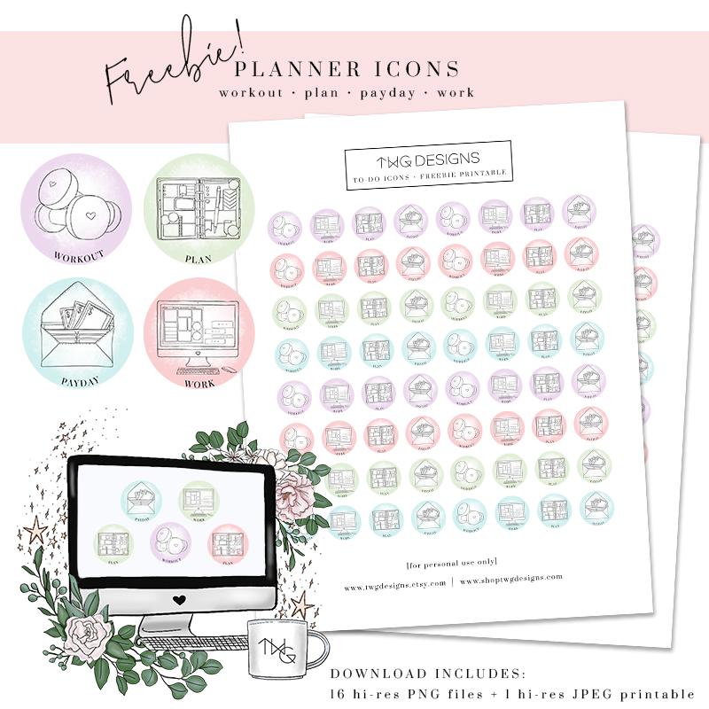 Freebie Planner Icons Pastel TWG Designs.jpg