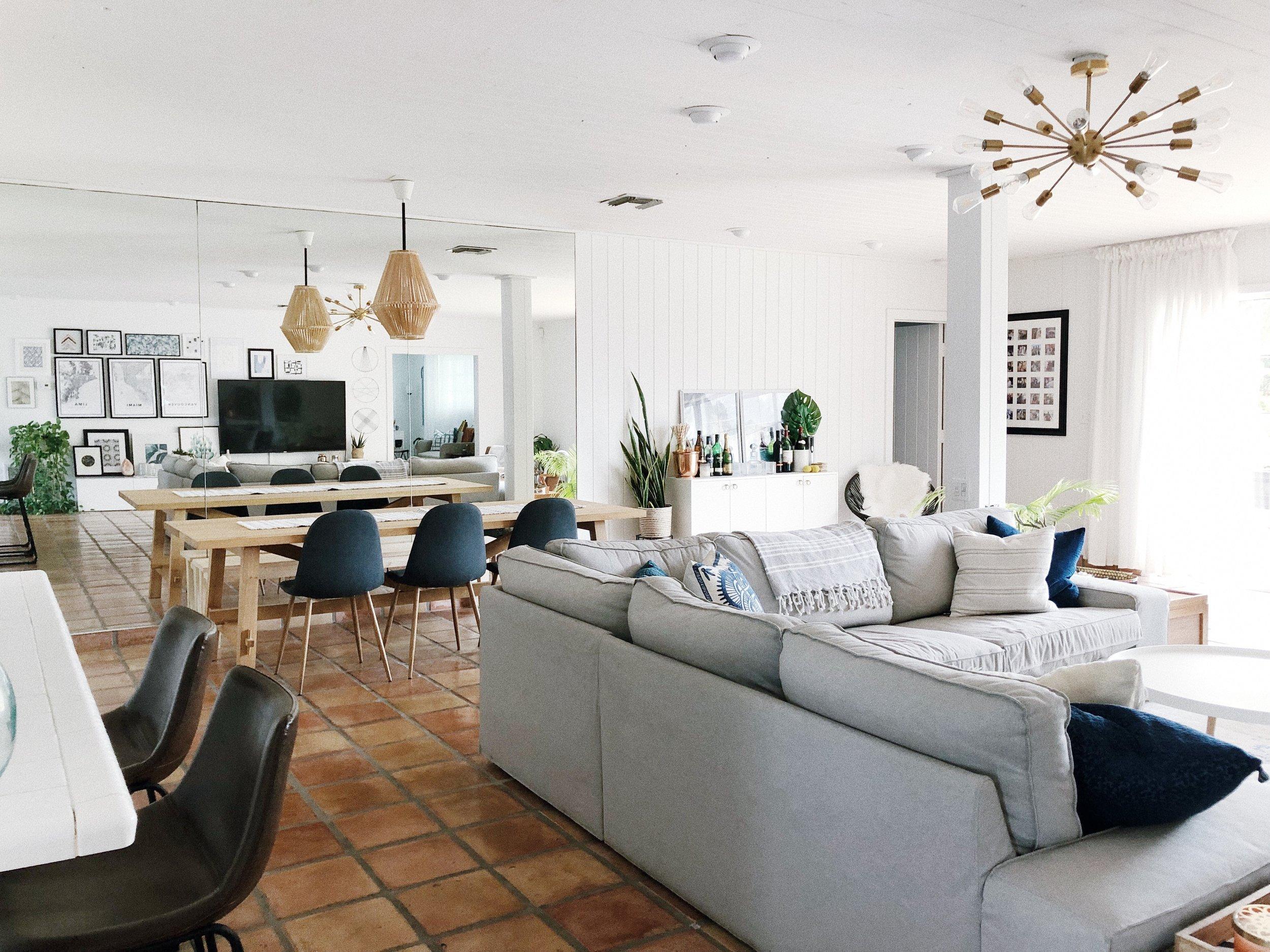 Gallery Wall Tour TWG Home Decor Interior Design Living Room Modern Boho Bohemian 2.jpg