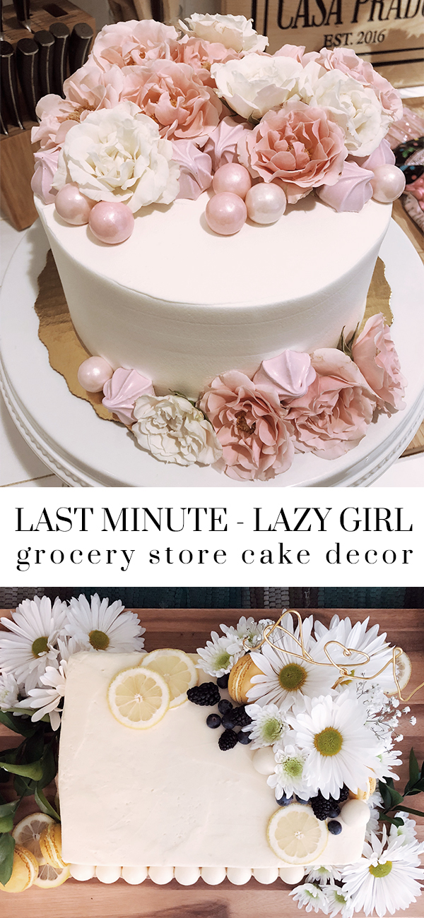 last minute diy grocery store cake decor party planning.jpg
