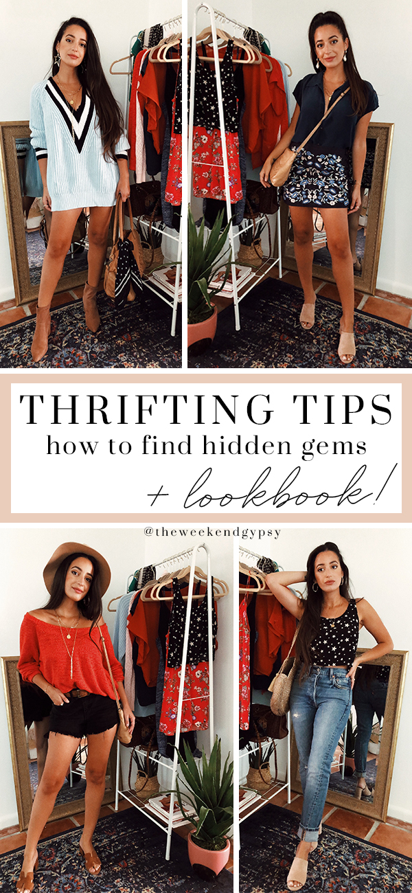 thrifting tips and tricks thrift store shopping find fashion haul styling ootd clothing accessories the weekend gypsy.jpg