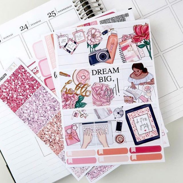 Planner Stickers - via  @popco.chrissy