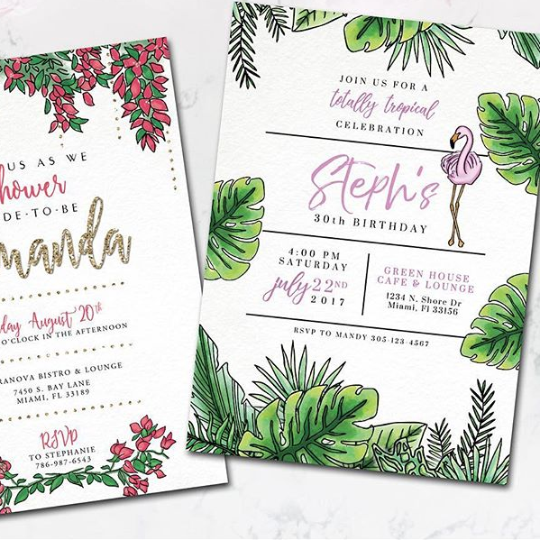 Invitations - via  @twgdesigns