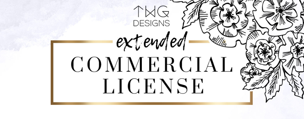 TWG Designs Commercial Licensing Licenses Clip Art Digital Papers Small Business