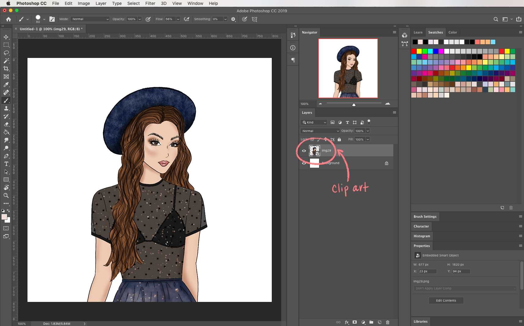 How to Change Clip Art Colors - with Photoshop masks — The