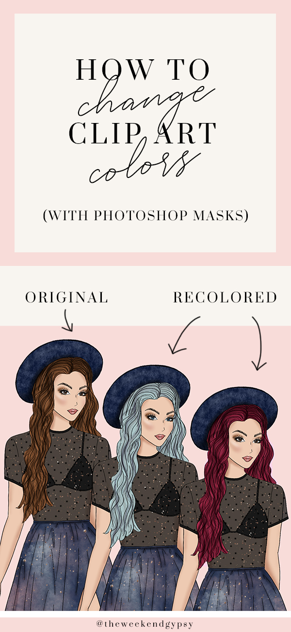 how to change clip art colors tutorial step by step psd photoshop tips and tricks layer masks.jpg