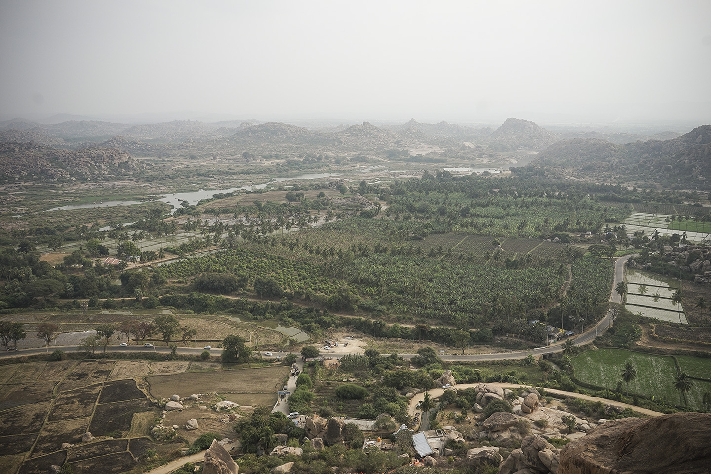 View from the Monkey Temple