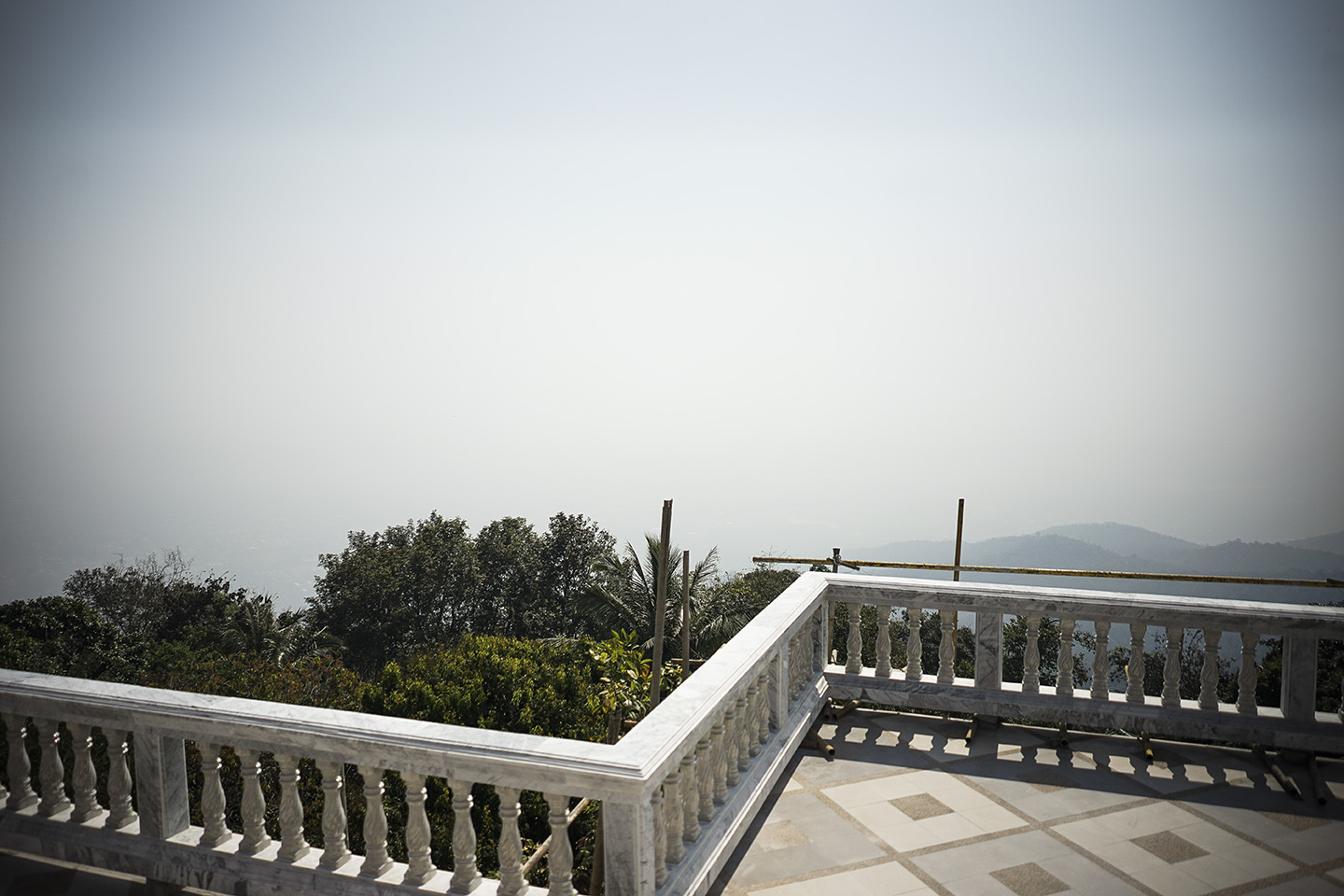 View, or lack-there-of, from Doi Suthep