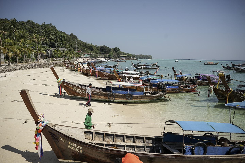 Arriving at Koh Phi Phi
