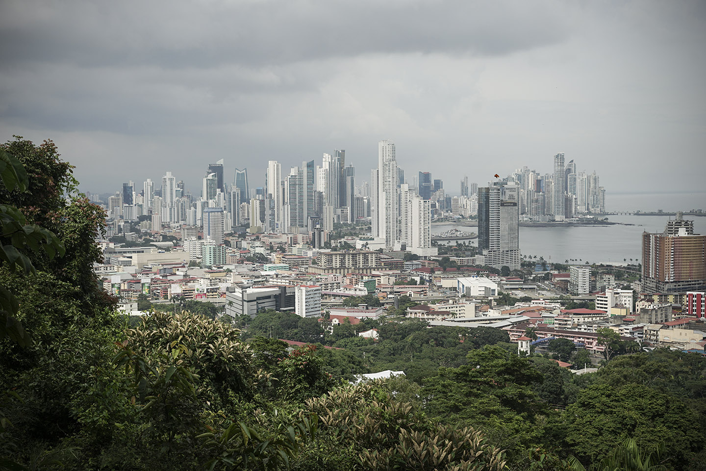 View from Ancon Hill